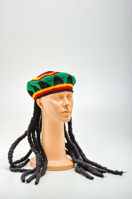 Chapéu  Jamaica C/ Dredi