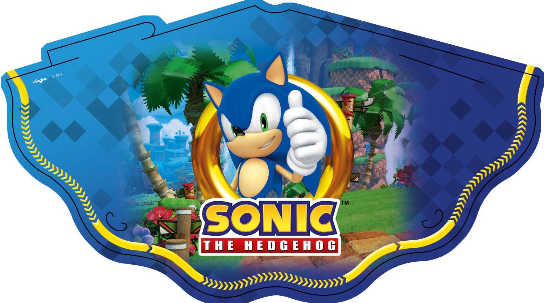 Chapéu Sonic 12Un.