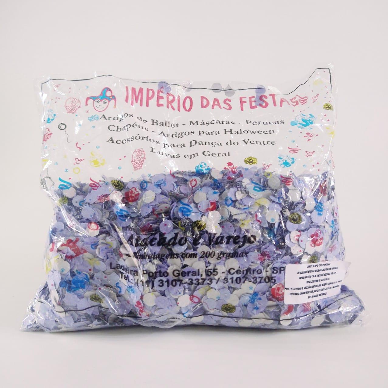 Confete coloridos de Papel Pct 200gr