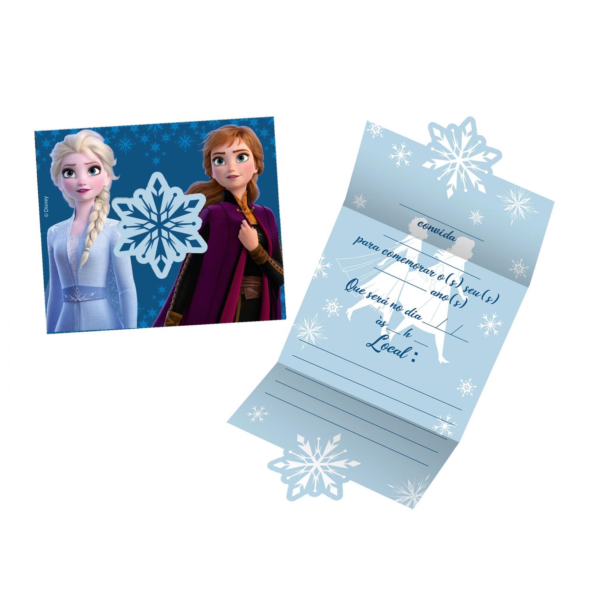 Convite Frozen II