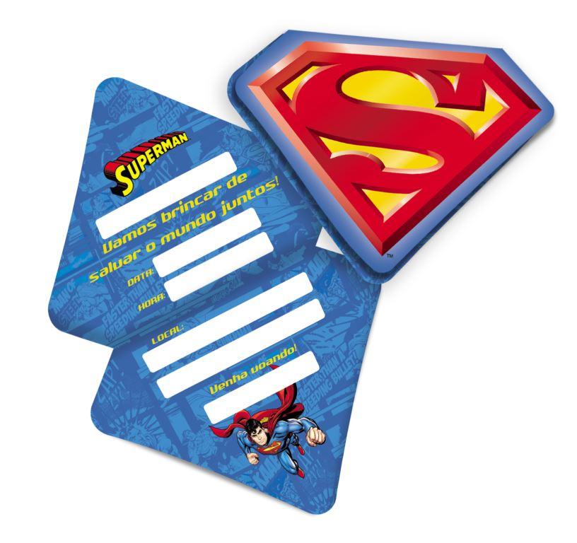 Convite Super Man