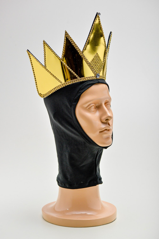 Coroa Rainha Má Coroa E Touca