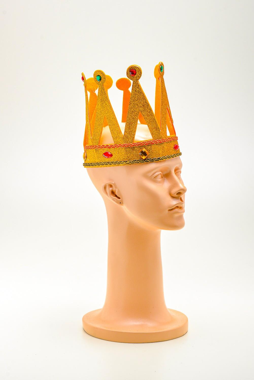 Coroa Rei Com Pedras