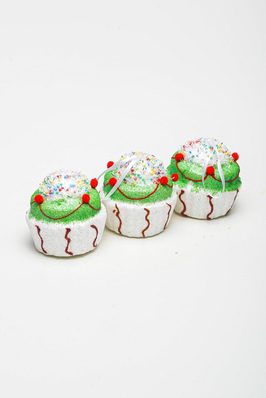 Enfeite Cupcake Cx C/3