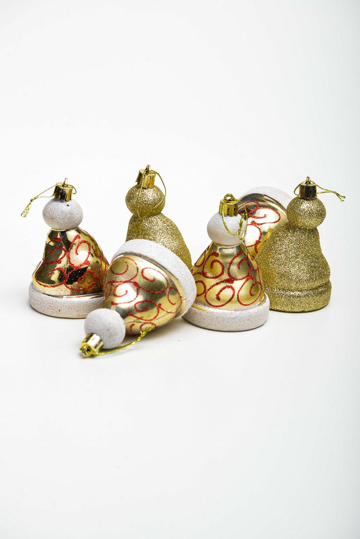 Enfeite Gorrinho Noel -  Enfeite Para Arvore