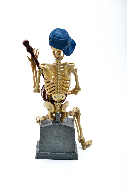 Esqueleto Tocando Banjo