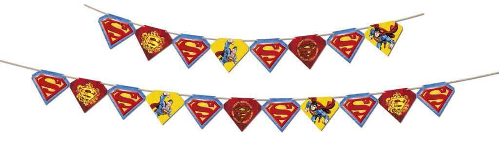 Faixa Decorativa 2,80M X 12,5Cm Super Man