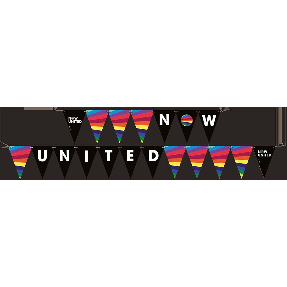Faixa Decorativa Now United 2,40M X 19Cm
