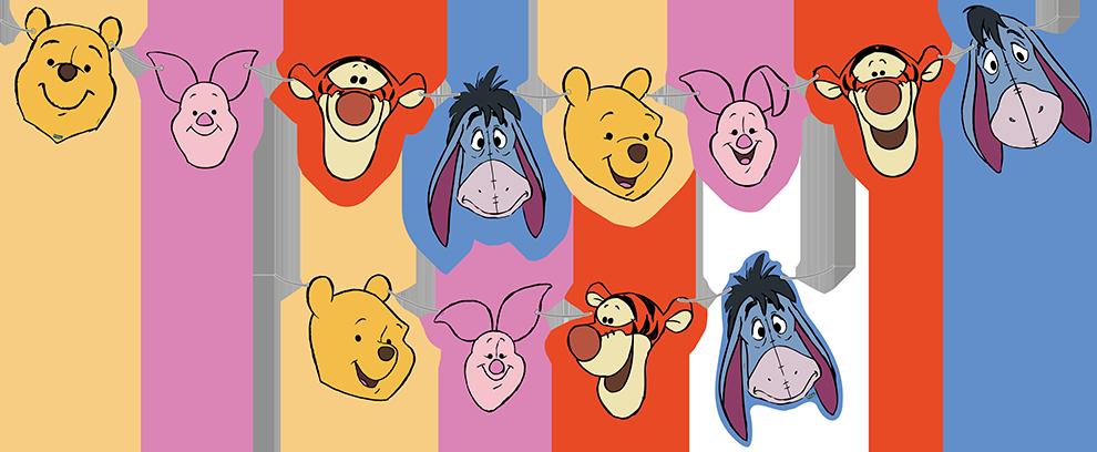 Faixa Decorativa Winnie The Pooh