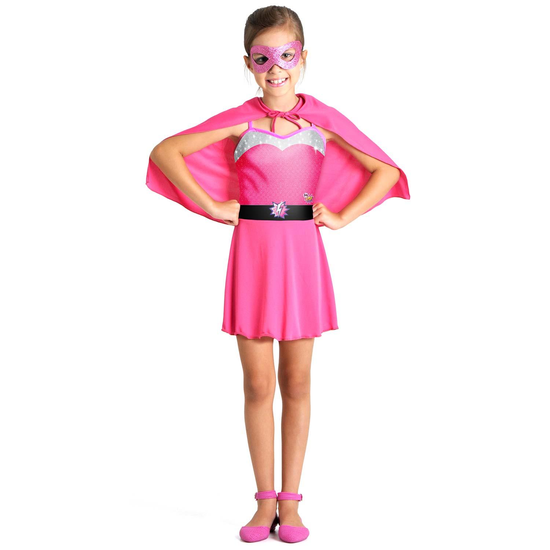 Fantasia Barbie Super Princesa Pop Tam P