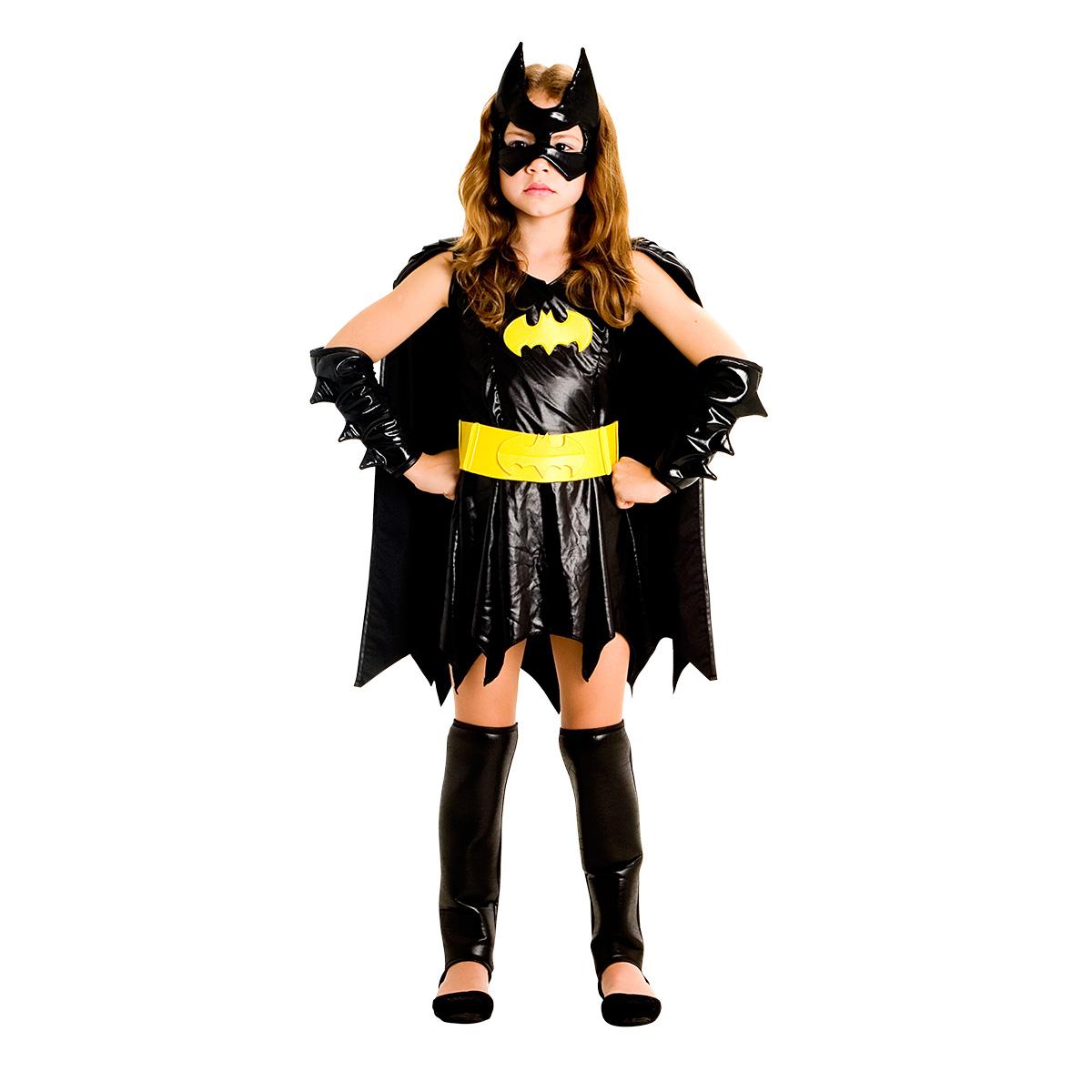Fantasia Bat Girl Luxo  Tam P
