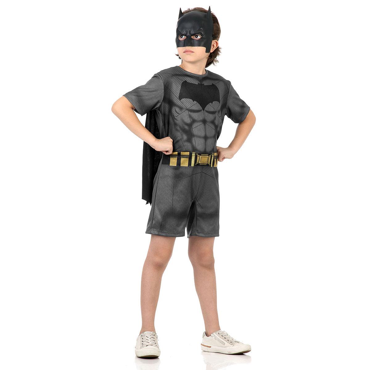Fantasia Batman Curto Tam Grande