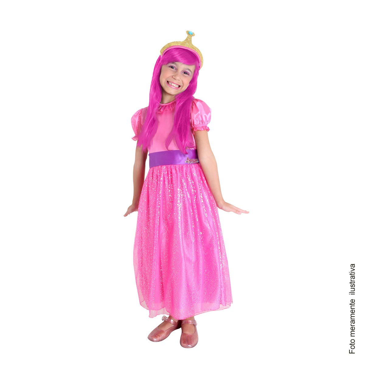Fantasia Princesa Jujuba - Hora Da Aventura Tam PP