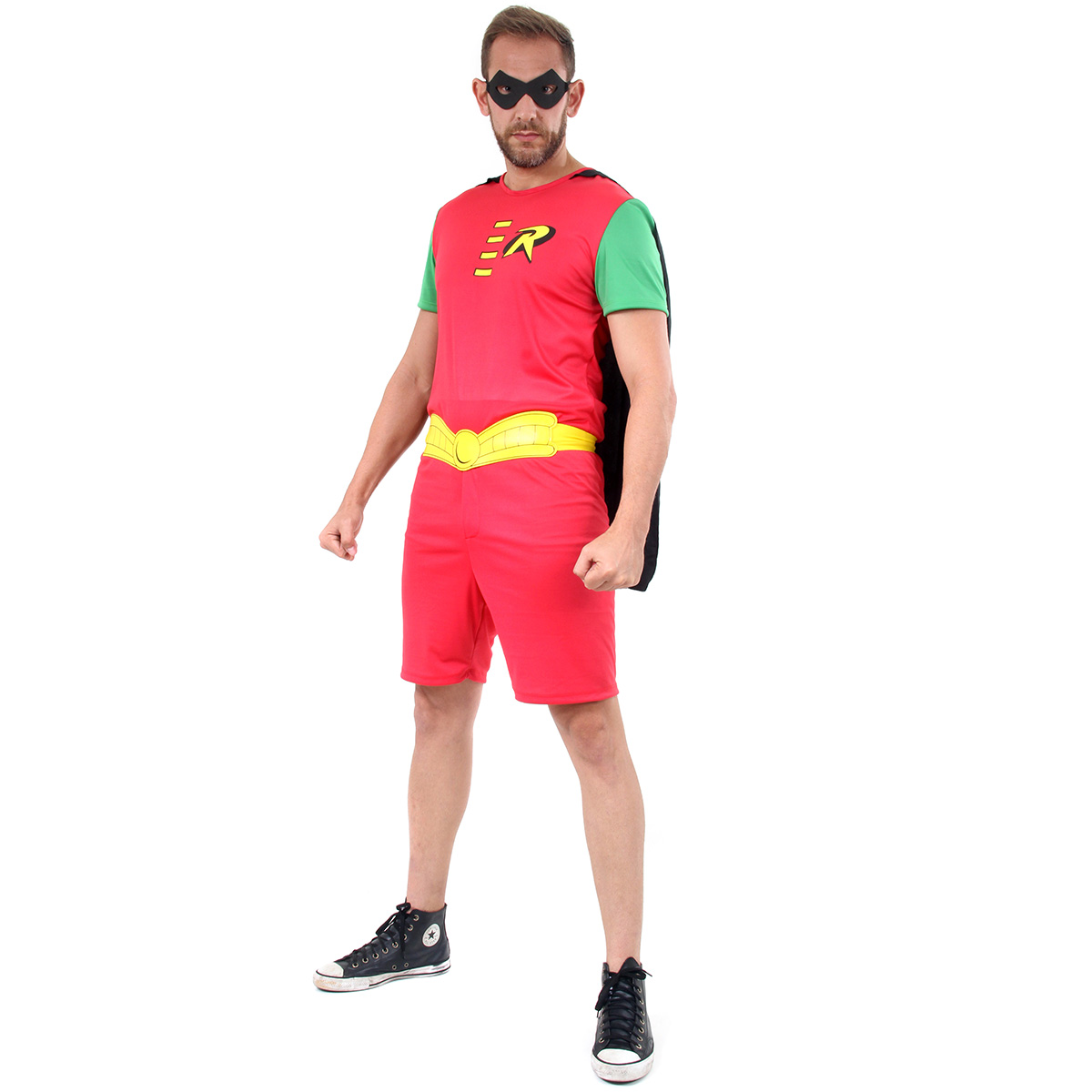 Fantasia Robin Adulto Curto
