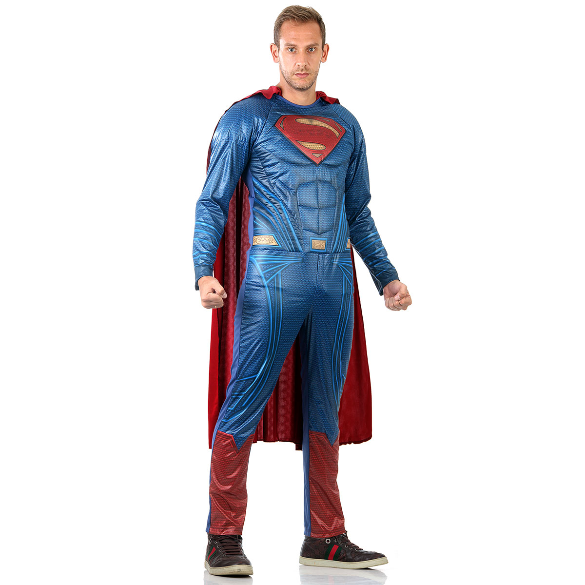 Fantasia Super Homem Adulto Filme Tam Grande