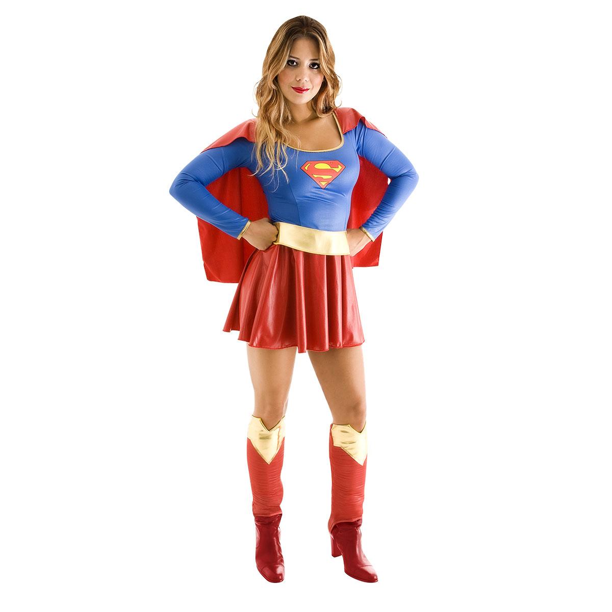 Fantasia Super Mulher - Heat Gilrs Tam M