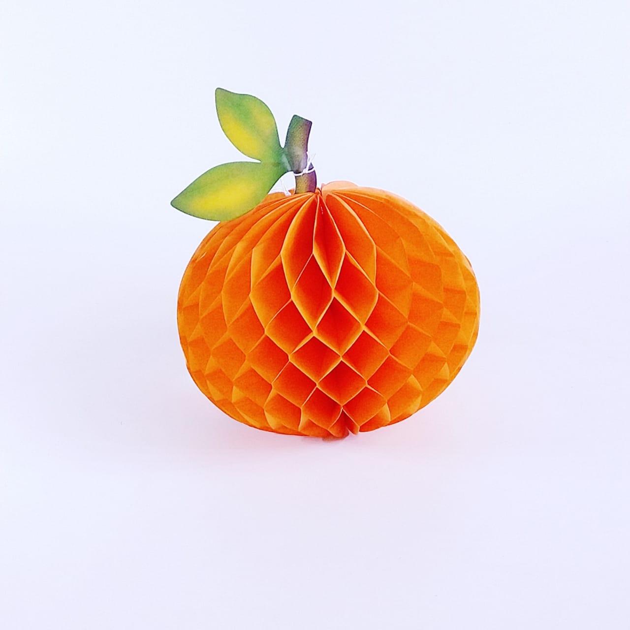 Fruta Laranja Origami