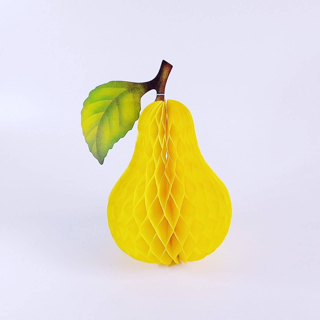 Fruta Pera Origami