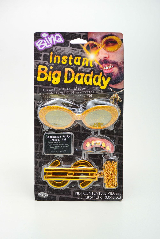 Kit Big Daddy Corrente Óculos Dentadura