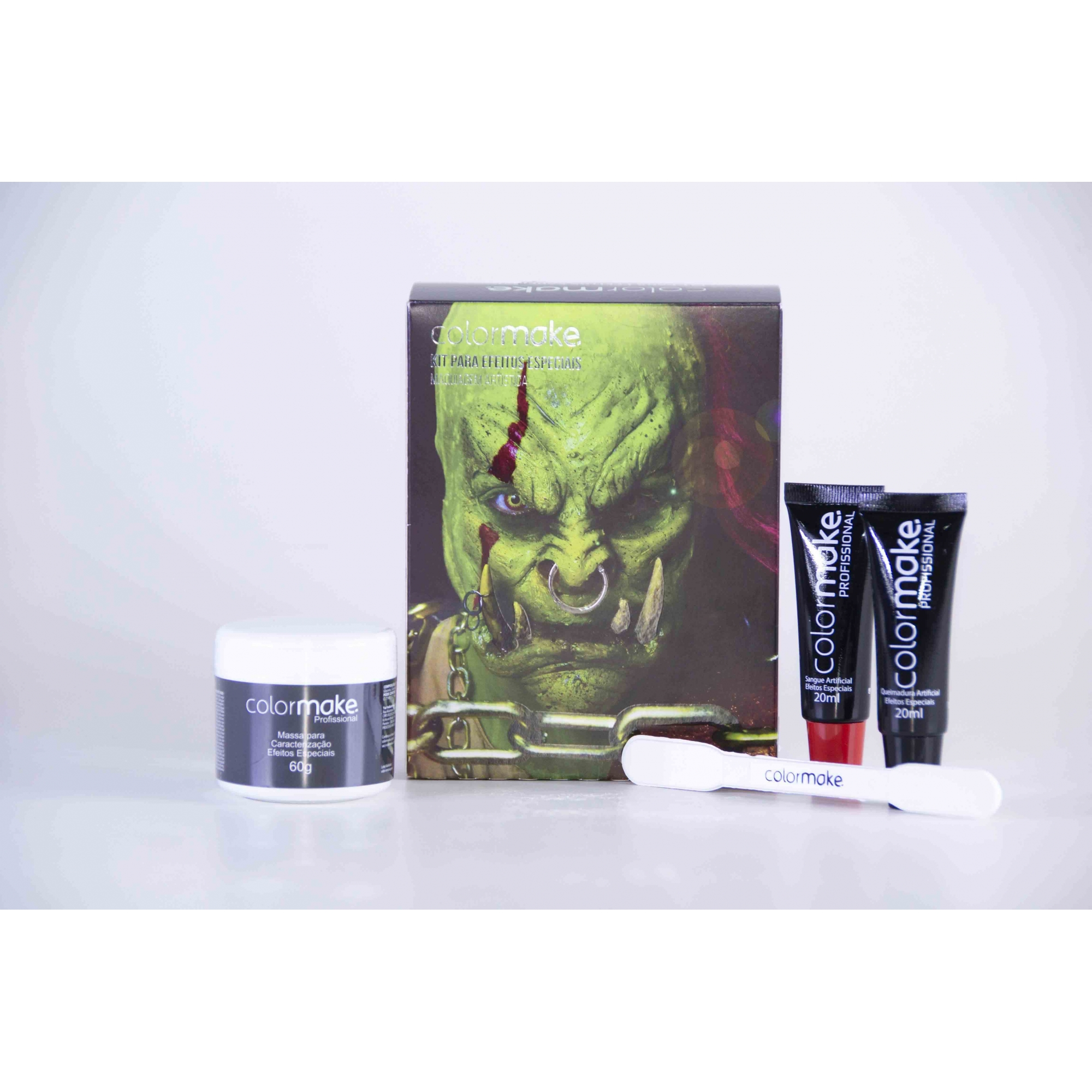Kit para efeitos especiais maquiagem artistica - colormake