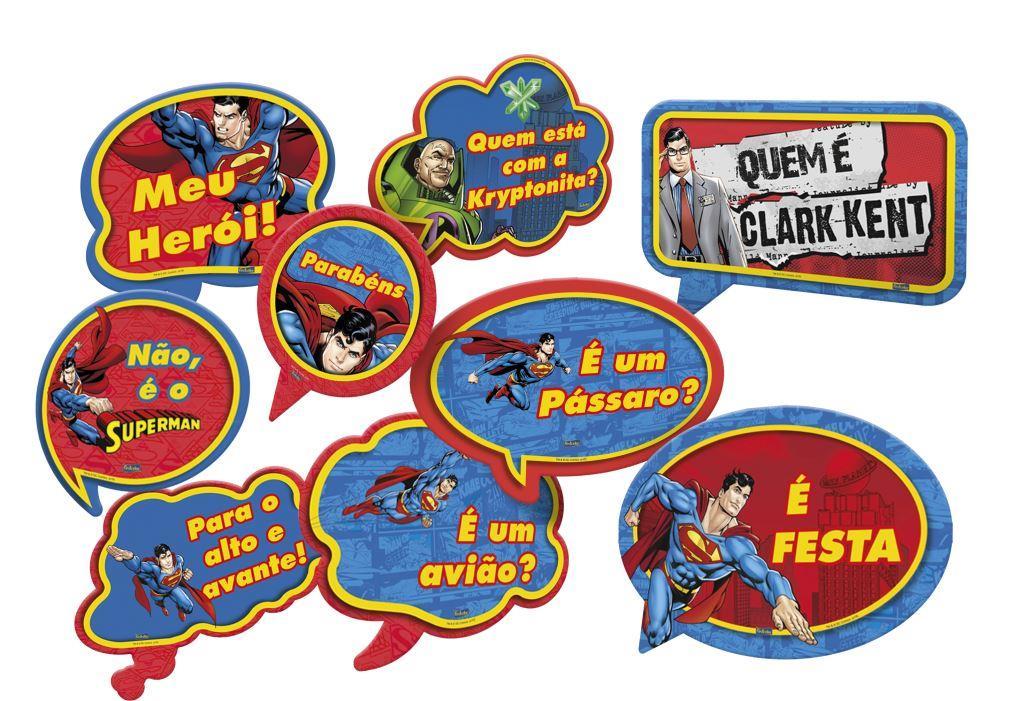 Kit Placas Super Man