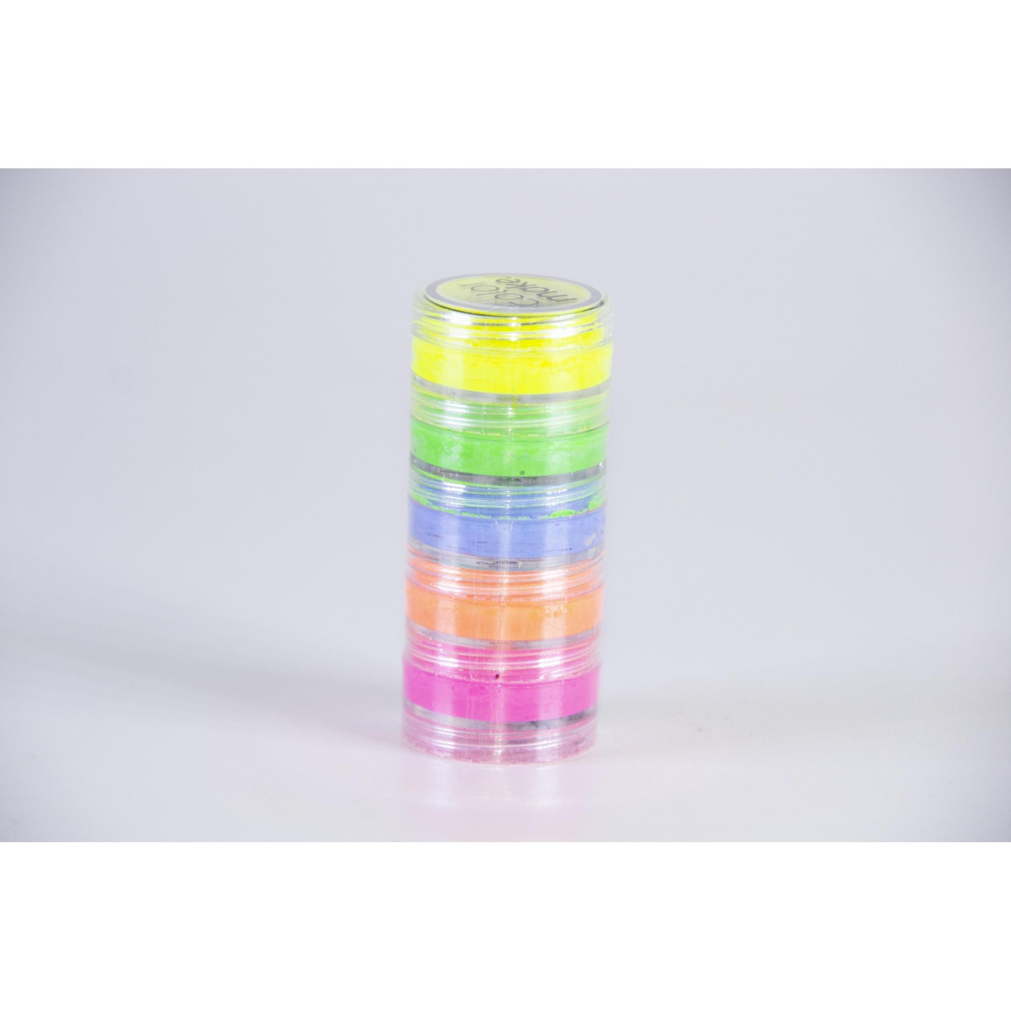 Kit Tinta Blush Cremosa Neon 5 Cores (4G Cada) - Color Make