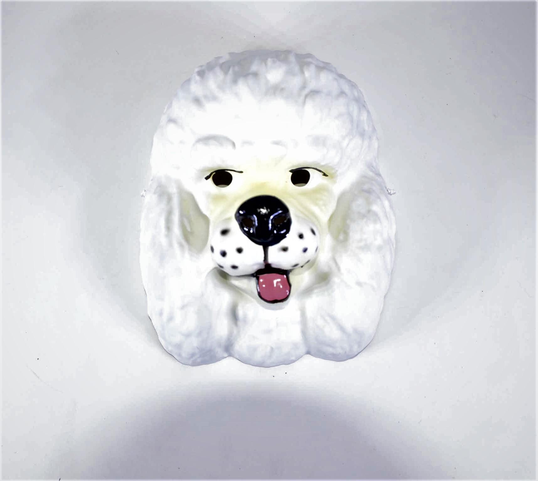 Máscara Cachorro Poodle
