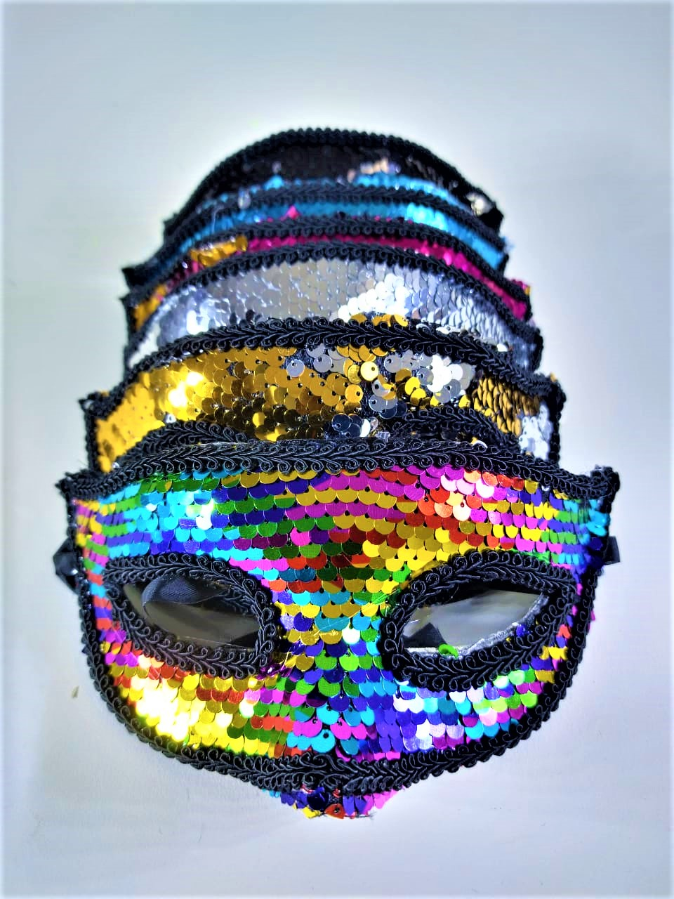 Máscara carnaval c/ Paetê