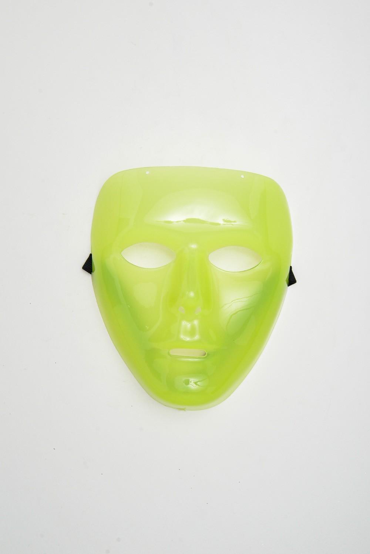 Máscara Face Brilha No Escuro