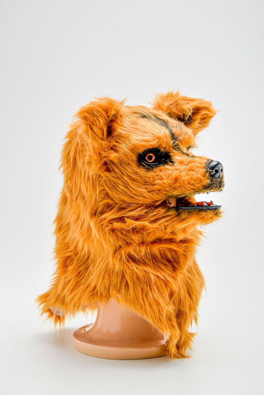 Máscara Lobo  Articulada