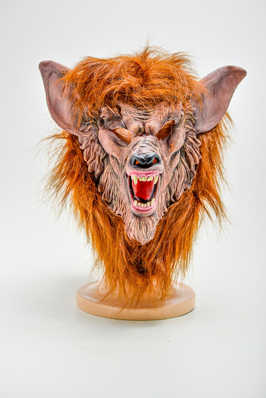 Máscara Lobo Mal Latex