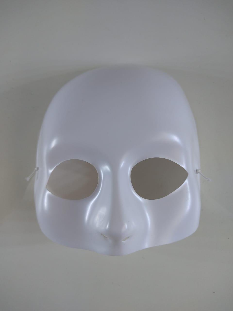 Máscara Meio Rosto Liso