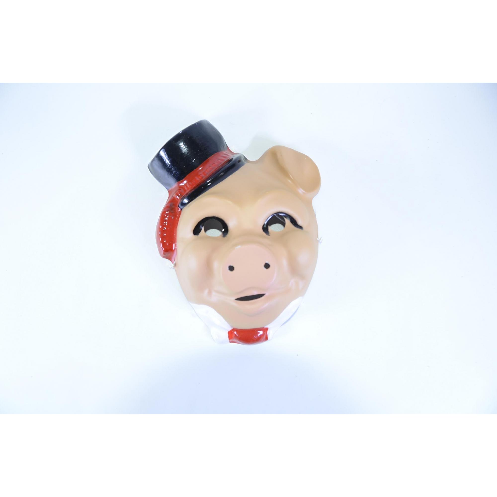 Máscara Porco Cartola