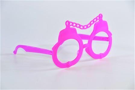 Óculos Pct Com 10 Plástico Colorido
