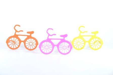 Óculos Pct Com 10 Plástico Colorido Bicicleta
