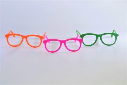 Óculos Pct Com 10 Plástico Colorido clássico