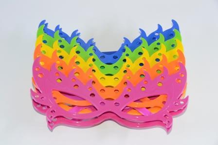 Óculos Pct Com 10 Plástico Colorido Máscara