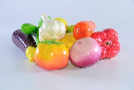 Pacote De Frutas E Legumes Grande 12 Pçs