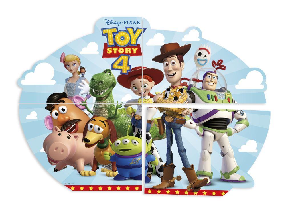 Painel Decorativo 1,26M X 88Cm Toy Story 4