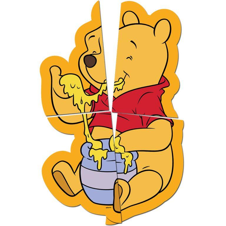 Painel Decorativo 82Cm X 1,26M Winnie The Pooh