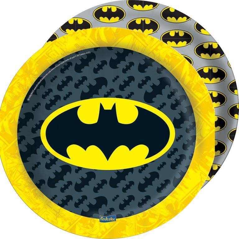 Prato 18Cm Batman