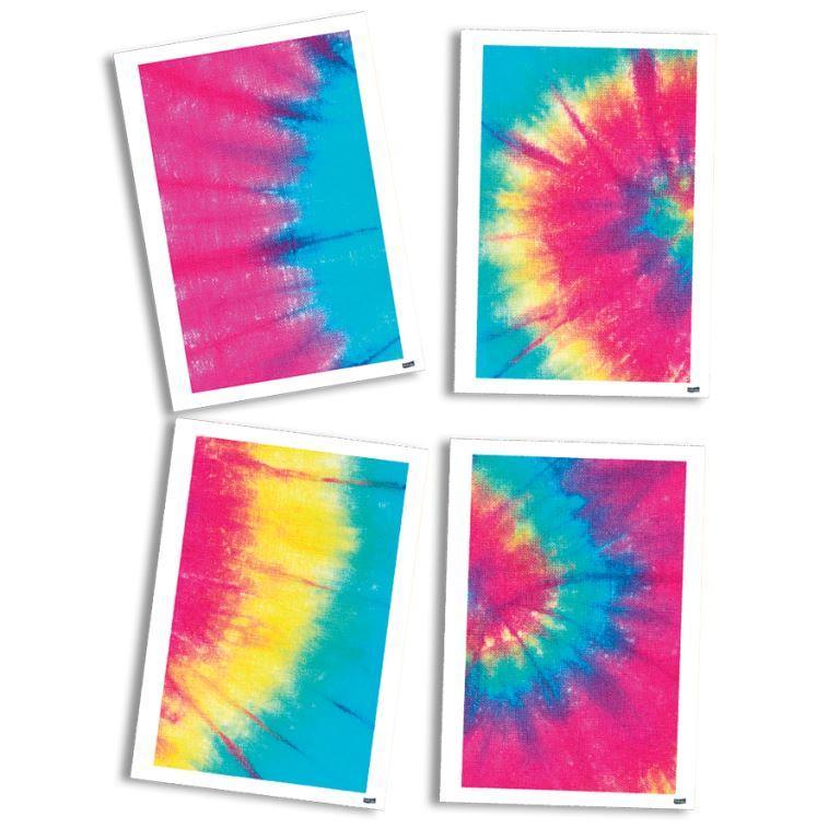 Quadro Decorativos 21Cm X 31Cm Tie Dye
