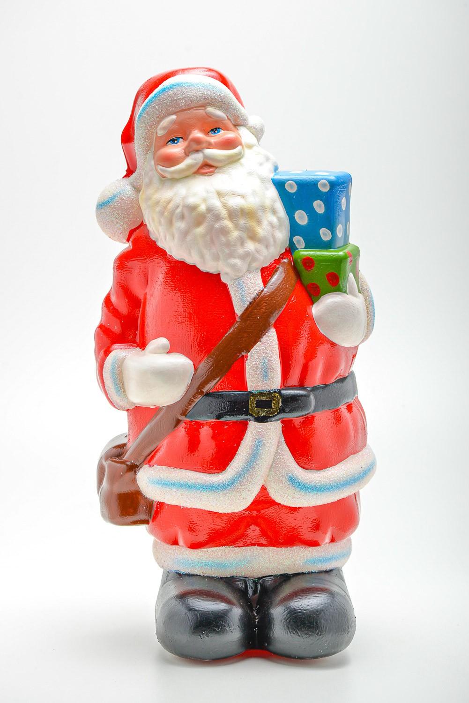 Papai Noel de Plástico Grande Alfa