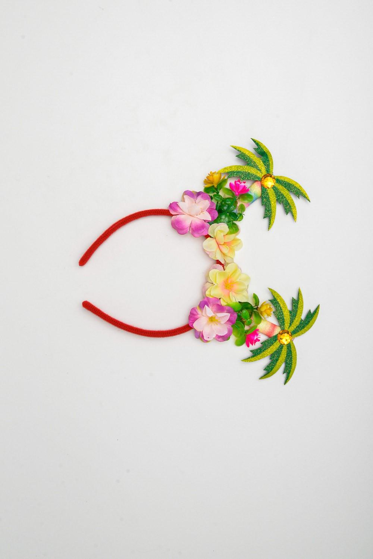 Tiara Coqueiro C/ Flor