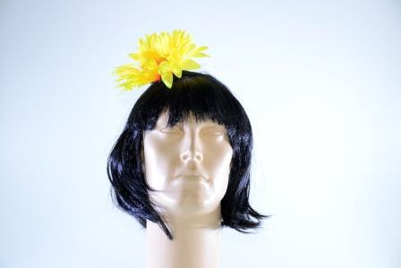 Tiara Girassol Amarelo