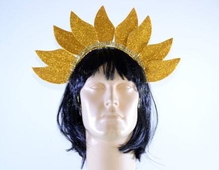 Tiara Sol Dourado