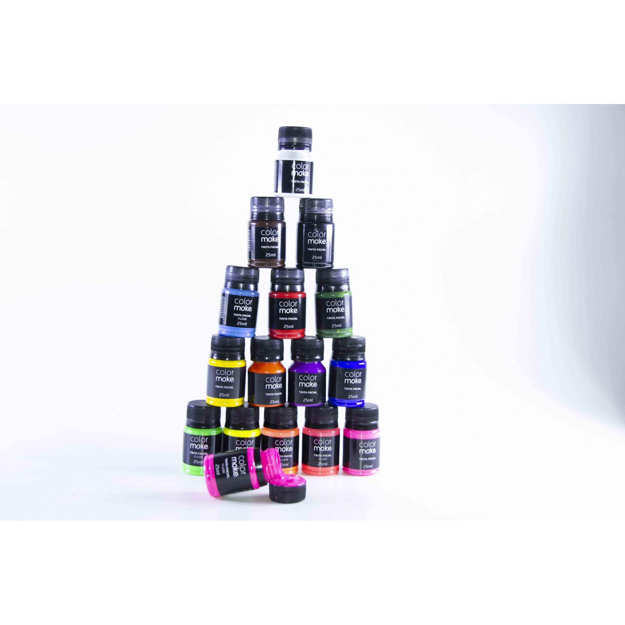Tinta Facial 25Ml - Color Make