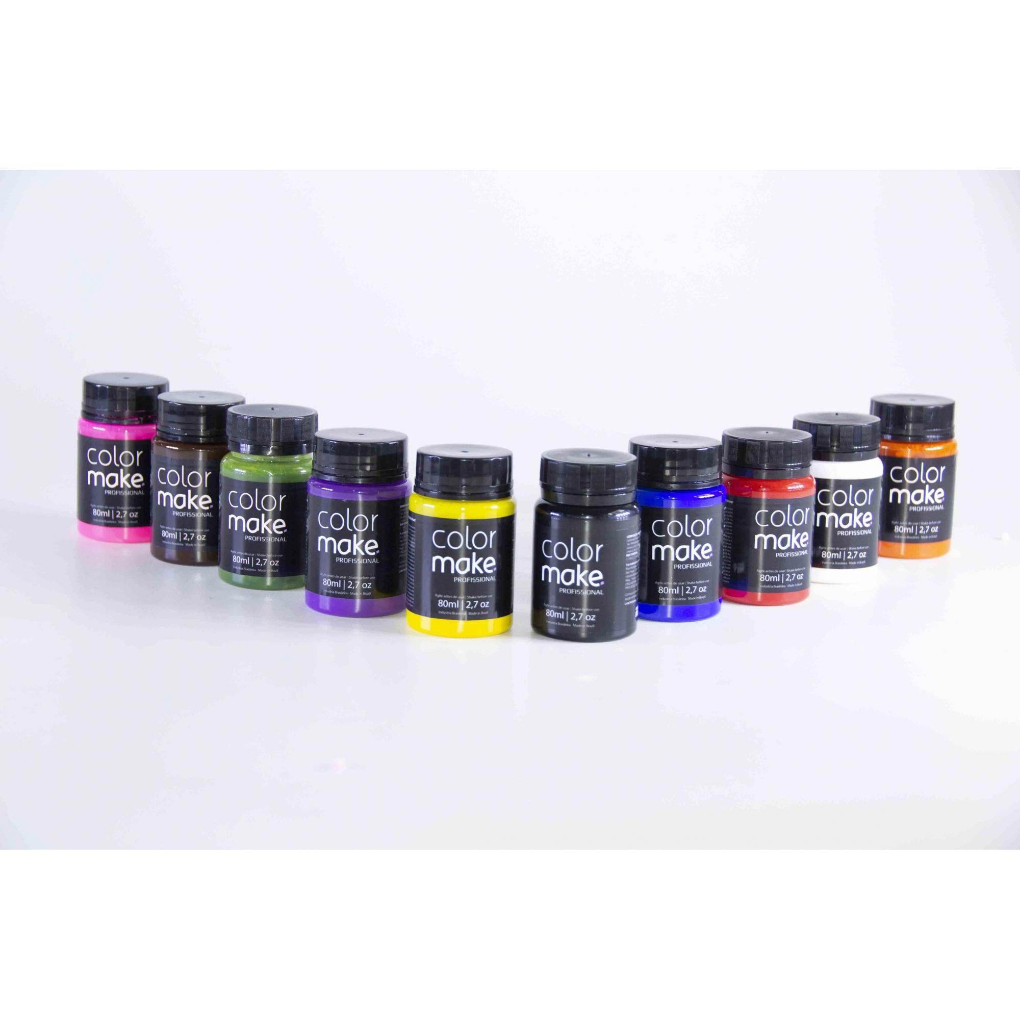 Tinta Líquida Corporal E Facil  80Ml - Color Make