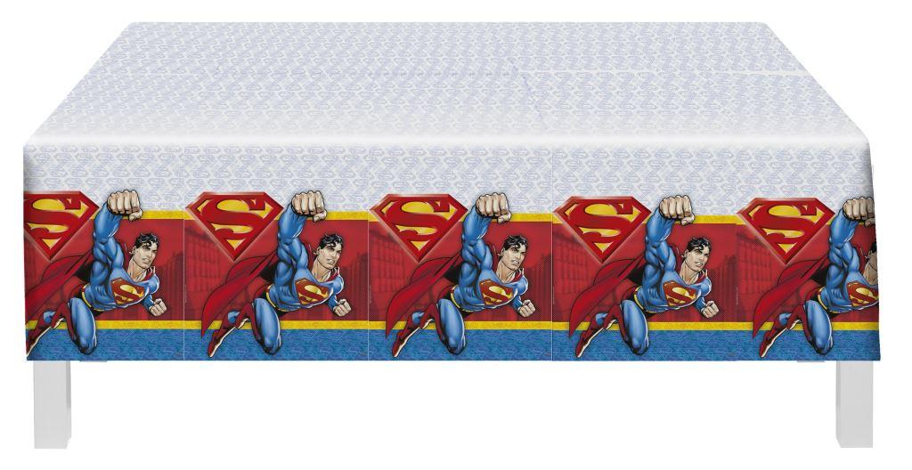 Toalha Plástica 1,20M X 1,80M Super Man