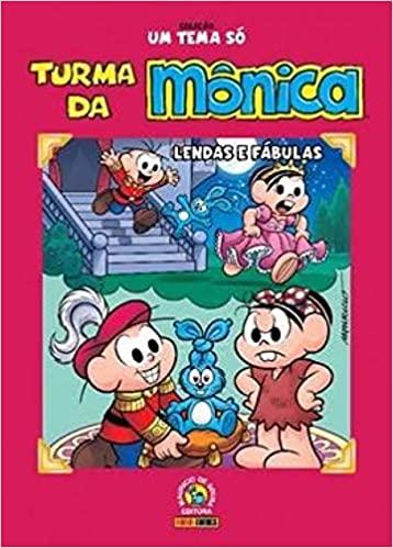 LIVRO TESTE 3 -  Coleção Um Tema Só. Turma da Mônica. Lendas e Fábulas (Português) Capa dura
